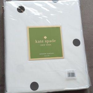 kate spade Bath - Kate Spade Deco. Shower curtain black and white